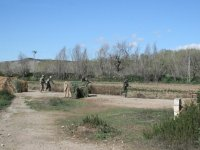 recorriendo terreno airsoft