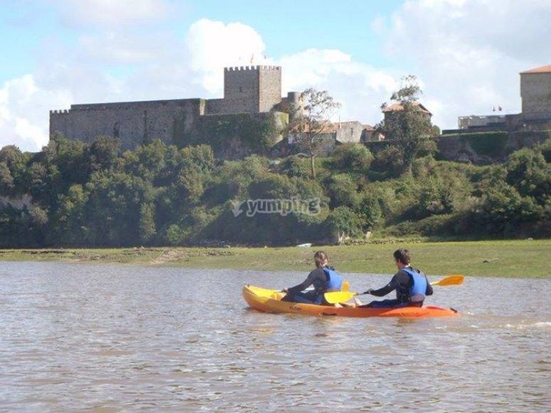 Descenso en canoa-raft