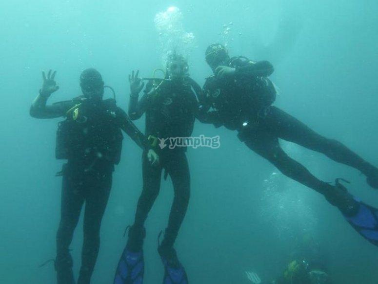 Mataró潜水课程