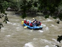 White water rafting in Bustasur, 2-3 hours.