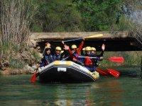 On a rafting raft
