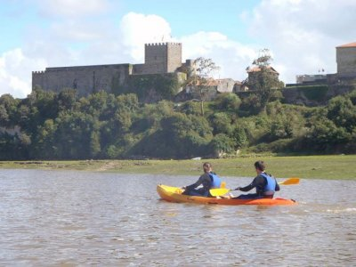 Canoe Deva River descent 12 km