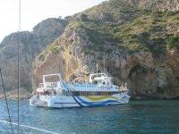在马拉加的Catamaran航行1小时