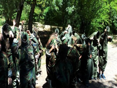Paintball illimitato per bambini, Castellar del Vallès