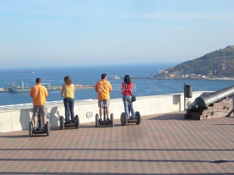 Segway in Murcia