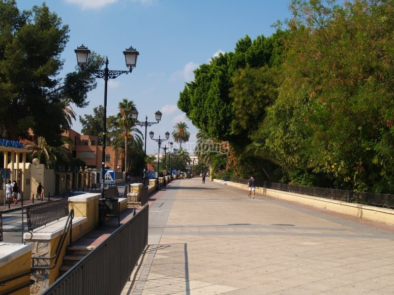 Paseo del Malecon in Murcia