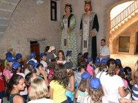 Visita cultural durante el campamento de Castellon