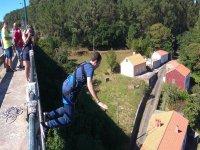 Bungee jumping in Galizia
