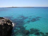 Paddle surf en el sur de Menorca