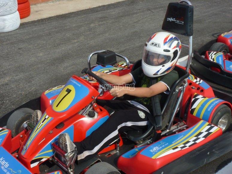 Karting en Alcalá del Júcar