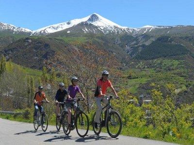 Excursión en BTT, Ribagorza de norte a sur, 3 días