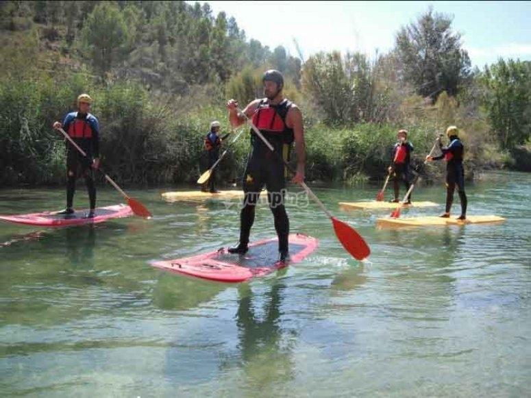 Iniciación al paddle surf