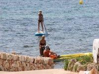 Kayaks en Punta Prima