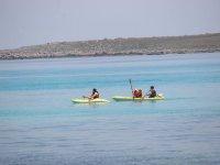 Kayak individual y biplaza en el sur de Menorca