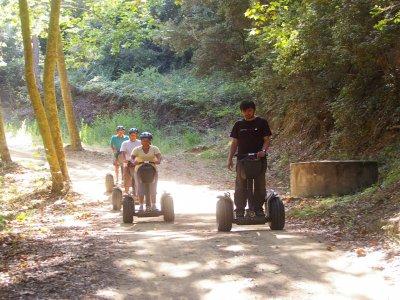 Excursión en segway por Parque Montnegre 12 KM