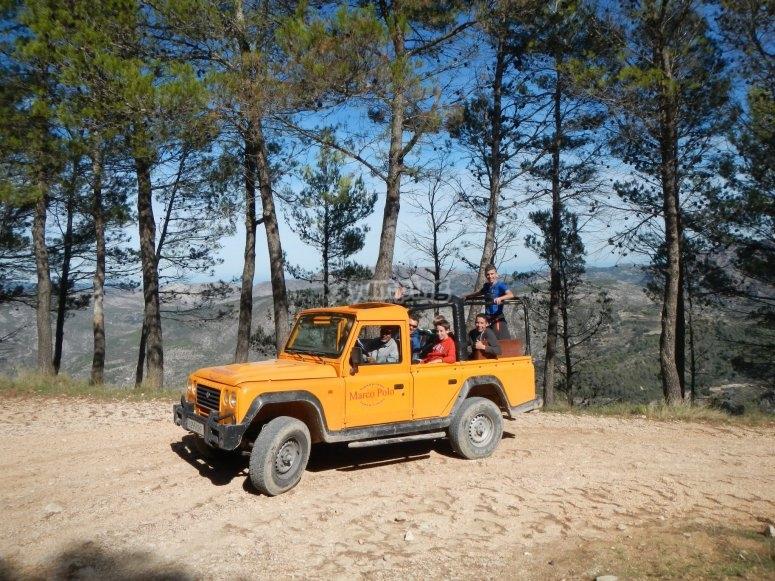 Recorrido en jeep safari