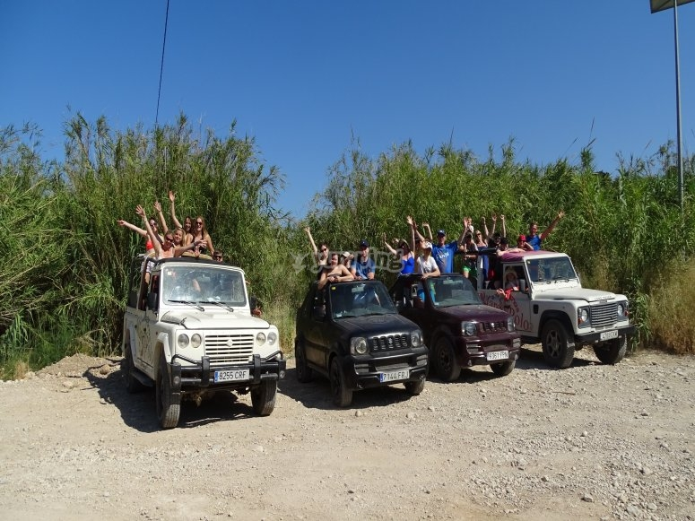 Recorrido en jeep safari