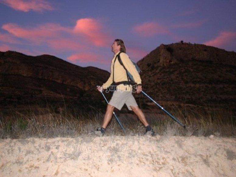 Instructor de nordic walking