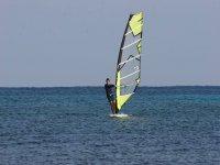 Clase de Windsurf en el sur de Menorca