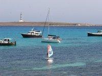 Clases de windsurf en Punta Prima