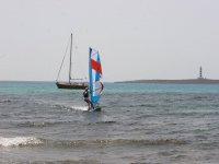 Windsurf en la Isla del Aire en Menorca