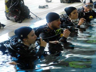 Scuba diving baptism, Fuenlabrada, 2 hours