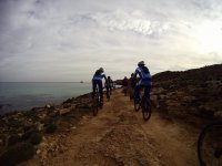 MTB routes by the sea
