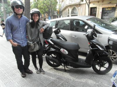 Motorbike Guided Tour in Barcelona  - 4 hours
