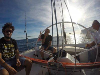 Navegación a vela, costa de Altea, 4h, hasta 7 PAX