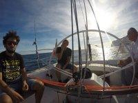 Ruta en barco