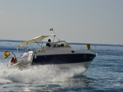Sports speedboat in Altea 4 hours for max 7 ppl