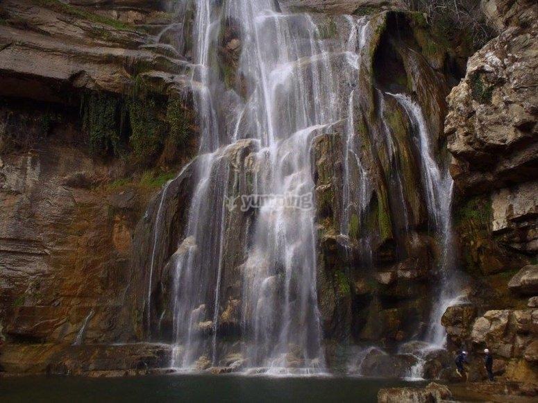 Graup Rupit瀑布