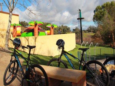 Granja Aventura El Ronquillo Alquiler Bicicletas