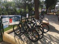 Flota de bicis de montaña en alquiler El Ronquillo