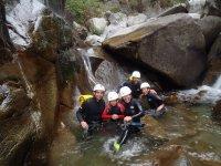 Queralbs的Vall溪降很容易