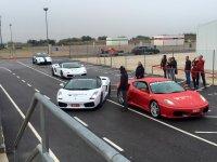 Ferraris saliendo