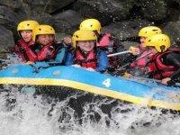 Children's rafting