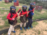 Paintball children