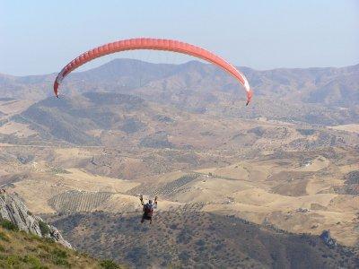 Volo di paramotore di 20 minuti, Valle di Abdalajís