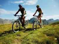 Disfruta en bicicleta