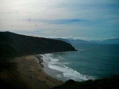 滑翔伞飞行Santa María de Oia +视频,20分钟