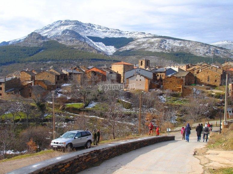 Climbing up the Ocejón