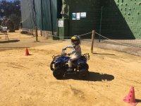 Circuito para niños de quads en El Ronquillo
