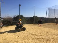 Pista de tierra para circuito de quads Sevilla
