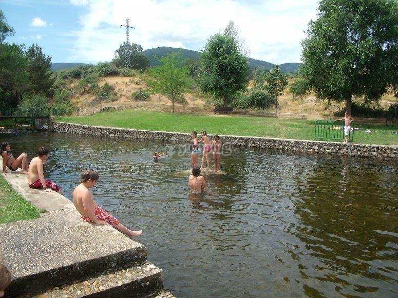 Immergersi nella laguna