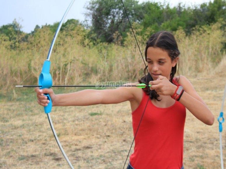 Puntare sul tiro con l'arco