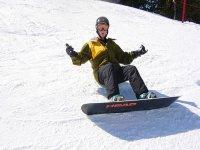 在犹他州滑雪