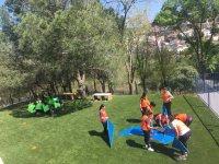 Juegos dinámicos en el parque