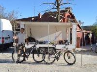 在俄勒冈BTT路线准备为我们的山地自行车路线路线BTT