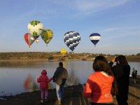 Kid's balloon flight 7-15 years, Leon